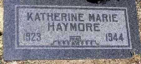 GILSON HAYMORE, KATHERINE - Yavapai County, Arizona | KATHERINE GILSON HAYMORE - Arizona Gravestone Photos