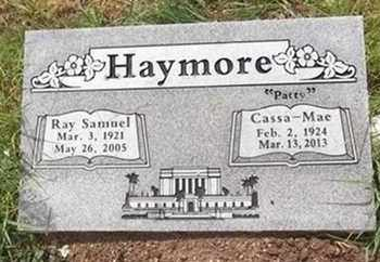 HAYMORE, RAY SAMUEL - Yavapai County, Arizona | RAY SAMUEL HAYMORE - Arizona Gravestone Photos