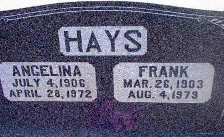 HAYS, FRANK - Yavapai County, Arizona | FRANK HAYS - Arizona Gravestone Photos
