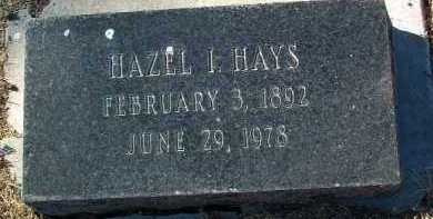 HAYS, HAZEL IRENE - Yavapai County, Arizona | HAZEL IRENE HAYS - Arizona Gravestone Photos
