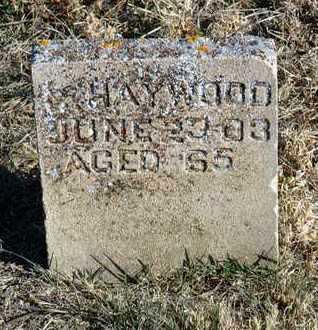 HAYWOOD, CHARLES F. - Yavapai County, Arizona | CHARLES F. HAYWOOD - Arizona Gravestone Photos