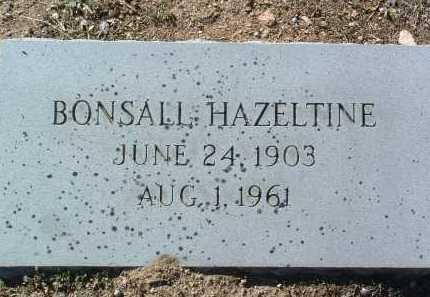 HAZELTINE, MOSES BONSALL - Yavapai County, Arizona | MOSES BONSALL HAZELTINE - Arizona Gravestone Photos