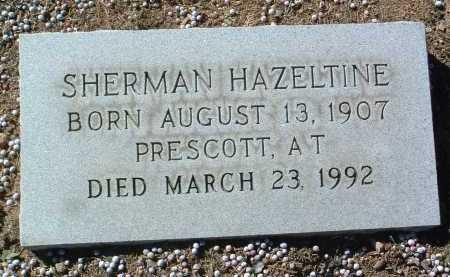 HAZELTINE, SHERMAN - Yavapai County, Arizona | SHERMAN HAZELTINE - Arizona Gravestone Photos
