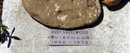HAZELWOOD, RUDY - Yavapai County, Arizona   RUDY HAZELWOOD - Arizona Gravestone Photos