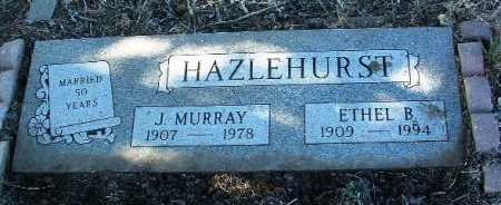 HAZLEHURST, ETHEL B. - Yavapai County, Arizona   ETHEL B. HAZLEHURST - Arizona Gravestone Photos