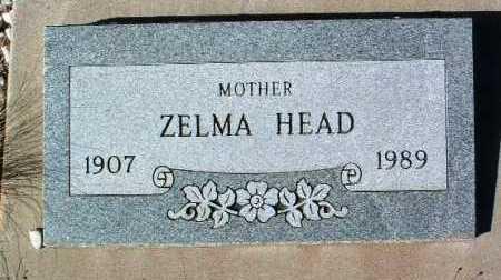 HEAD, ZELMA - Yavapai County, Arizona | ZELMA HEAD - Arizona Gravestone Photos