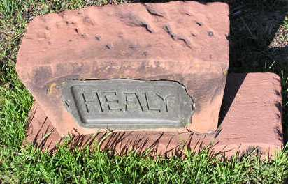 HEALY, HEADSTONE - Yavapai County, Arizona | HEADSTONE HEALY - Arizona Gravestone Photos