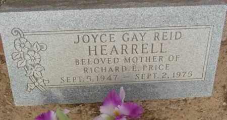 REID HEARRELL, JOYCE GAY - Yavapai County, Arizona   JOYCE GAY REID HEARRELL - Arizona Gravestone Photos