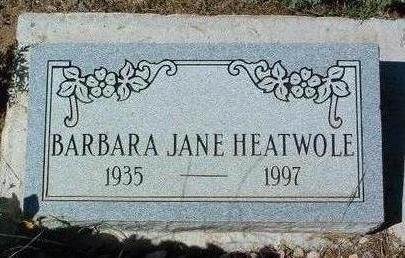 HEATWOLF, BARBARA JANE - Yavapai County, Arizona | BARBARA JANE HEATWOLF - Arizona Gravestone Photos