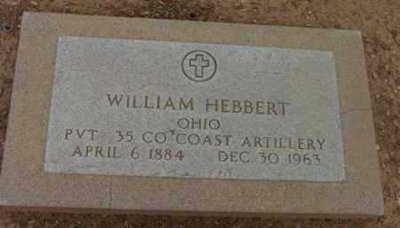 HEBBERT, WILLIAM - Yavapai County, Arizona | WILLIAM HEBBERT - Arizona Gravestone Photos