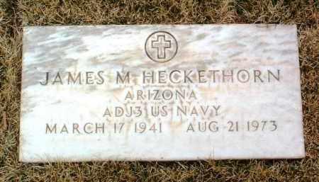 HECKETHORN, JAMES M. - Yavapai County, Arizona | JAMES M. HECKETHORN - Arizona Gravestone Photos