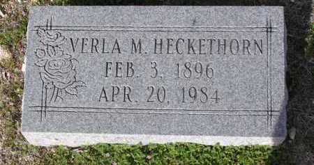 CROXDALE HECKETHORN, VERLA MOLIND - Yavapai County, Arizona | VERLA MOLIND CROXDALE HECKETHORN - Arizona Gravestone Photos