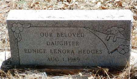 HEDGES, EUNICE LENORE - Yavapai County, Arizona | EUNICE LENORE HEDGES - Arizona Gravestone Photos
