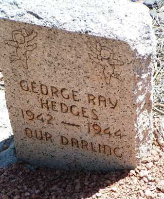 HEDGES, GEORGE RAY - Yavapai County, Arizona | GEORGE RAY HEDGES - Arizona Gravestone Photos