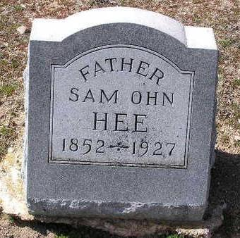 HEE, SAM OHN - Yavapai County, Arizona | SAM OHN HEE - Arizona Gravestone Photos