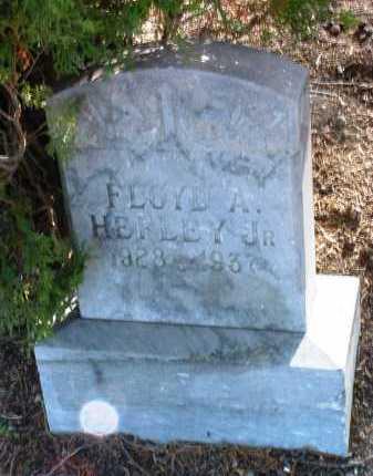 HEFLEY, FLOYD ARTHUR, JR. - Yavapai County, Arizona | FLOYD ARTHUR, JR. HEFLEY - Arizona Gravestone Photos