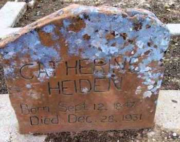 SMITH HEIDEN, CATHERINE - Yavapai County, Arizona   CATHERINE SMITH HEIDEN - Arizona Gravestone Photos