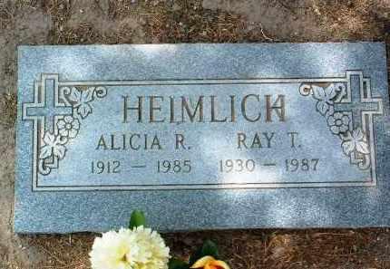 ROMERO HEIMLICH, ALICIA - Yavapai County, Arizona | ALICIA ROMERO HEIMLICH - Arizona Gravestone Photos