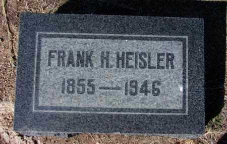 HEISLER, FRANK HENRY - Yavapai County, Arizona   FRANK HENRY HEISLER - Arizona Gravestone Photos