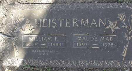 HEISTERMAN, WILLIAM F. - Yavapai County, Arizona | WILLIAM F. HEISTERMAN - Arizona Gravestone Photos