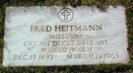 HEITMANN, FRED - Yavapai County, Arizona | FRED HEITMANN - Arizona Gravestone Photos
