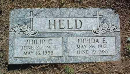 HELD, FREIDA EDNA - Yavapai County, Arizona | FREIDA EDNA HELD - Arizona Gravestone Photos