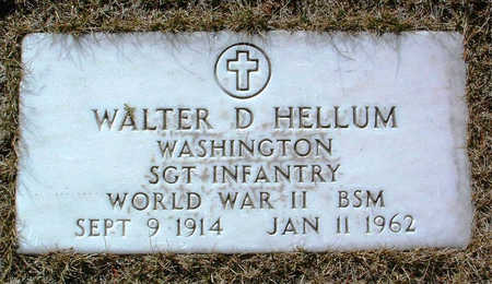 HELLUM, WALTER DONALD - Yavapai County, Arizona | WALTER DONALD HELLUM - Arizona Gravestone Photos