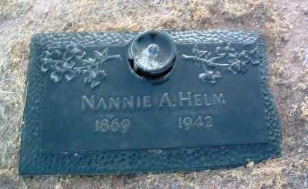 DUNCAN HELM, NANNIE A. - Yavapai County, Arizona   NANNIE A. DUNCAN HELM - Arizona Gravestone Photos