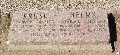 HELMS, REBECCA J. - Yavapai County, Arizona | REBECCA J. HELMS - Arizona Gravestone Photos