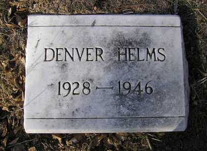 HELMS, DENVER E. - Yavapai County, Arizona | DENVER E. HELMS - Arizona Gravestone Photos