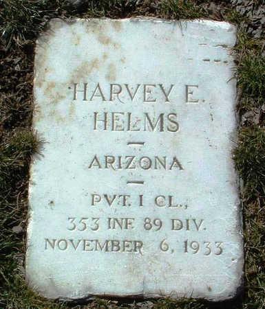 HELMS, HARVEY EDWARD - Yavapai County, Arizona | HARVEY EDWARD HELMS - Arizona Gravestone Photos