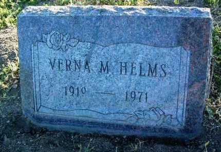 HELMS, VERNA MABEL - Yavapai County, Arizona | VERNA MABEL HELMS - Arizona Gravestone Photos