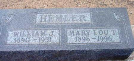 HEMLER, MARY LOU T. - Yavapai County, Arizona | MARY LOU T. HEMLER - Arizona Gravestone Photos