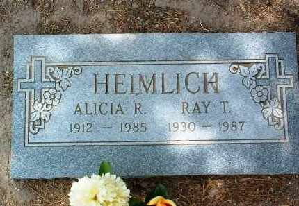 HEIMLICH, RAYMOND TURNER (RAY) - Yavapai County, Arizona | RAYMOND TURNER (RAY) HEIMLICH - Arizona Gravestone Photos