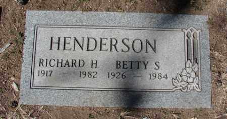 SUMMERS HENDERSON, BETTY S. - Yavapai County, Arizona | BETTY S. SUMMERS HENDERSON - Arizona Gravestone Photos