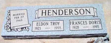 HENDERSON, ELDON TROY - Yavapai County, Arizona | ELDON TROY HENDERSON - Arizona Gravestone Photos