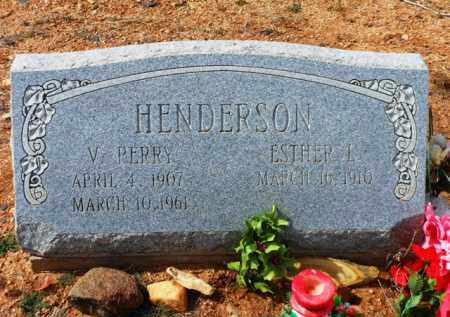 HENDERSON, ESTHER LEE - Yavapai County, Arizona | ESTHER LEE HENDERSON - Arizona Gravestone Photos