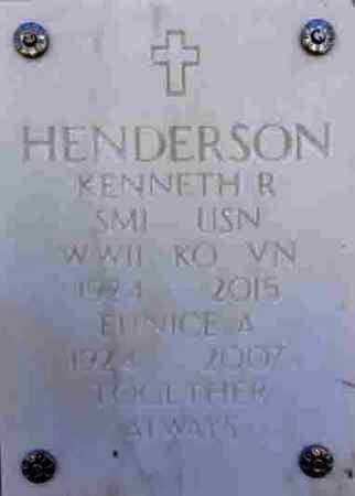 HALHEN HENDERSON, E. - Yavapai County, Arizona   E. HALHEN HENDERSON - Arizona Gravestone Photos