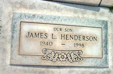HENDERSON, JAMES L. - Yavapai County, Arizona | JAMES L. HENDERSON - Arizona Gravestone Photos