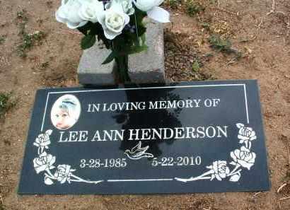 HENDERSON, LEE ANN - Yavapai County, Arizona | LEE ANN HENDERSON - Arizona Gravestone Photos