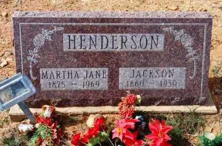 HUMAN HENDERSON, MARTHA JANE - Yavapai County, Arizona | MARTHA JANE HUMAN HENDERSON - Arizona Gravestone Photos