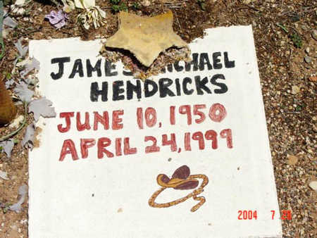 HENDRICKS, JAMES M. - Yavapai County, Arizona | JAMES M. HENDRICKS - Arizona Gravestone Photos