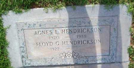 HENDRICKSON, FLOYD G. - Yavapai County, Arizona | FLOYD G. HENDRICKSON - Arizona Gravestone Photos