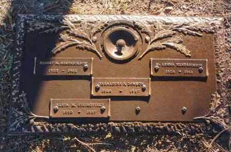 HENDRICKSON, MARY L. - Yavapai County, Arizona   MARY L. HENDRICKSON - Arizona Gravestone Photos