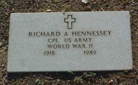 HENNESSEY, RICHARD ANDREW - Yavapai County, Arizona | RICHARD ANDREW HENNESSEY - Arizona Gravestone Photos