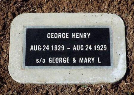 HENRY, GEORGE - Yavapai County, Arizona | GEORGE HENRY - Arizona Gravestone Photos