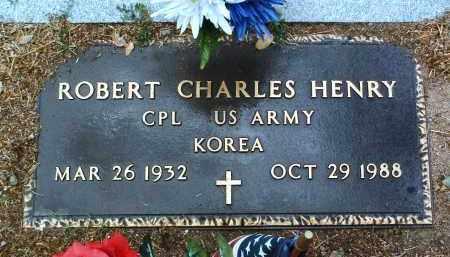 HENRY, ROBERT CHARLES - Yavapai County, Arizona | ROBERT CHARLES HENRY - Arizona Gravestone Photos