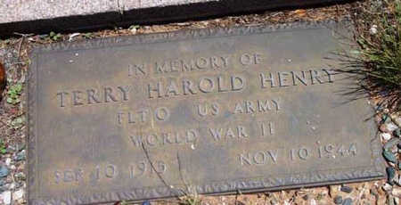 HENRY, TERRY HAROLD - Yavapai County, Arizona | TERRY HAROLD HENRY - Arizona Gravestone Photos