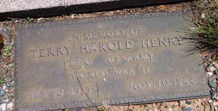 HENRY, TERRY HAROLD - Yavapai County, Arizona | TERRY HAROLD HENRY - Arizona Gravestone Photos