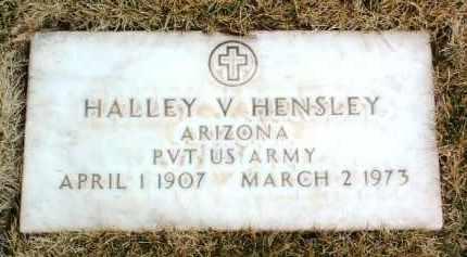 HENSLEY, HALLEY V. - Yavapai County, Arizona | HALLEY V. HENSLEY - Arizona Gravestone Photos
